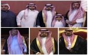 """""""بالصور"""" ابناء سلطان الحزوم """"يرحمه الله"""" يحتفلون بإخيهم/ محمد عريساَ"""