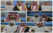 في إستراحة سحائب بالقاعد فضيل عبدالله الفضيل يحتفل بزواج ابنه سعود