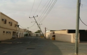 أعمدة الكهرباء المتهالكة أيلةٌ لسقوط تهدد المواطنين في #جبة