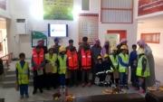 بعدد من المسابقات والمبادرات مدرسة طارق بن زياد ب #جبة تشارك في فعاليات اليوم العالمي للدفاع المدني