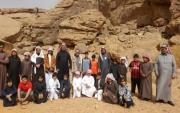 مدرسة طارق بن زياد ب #جبة *تقيم رحلة لطلابها لزيارة موقع الآثار