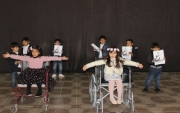 روضة إعداد القادة في تنمية جبة الإجتماعية تحتفي بذوي الإحتياجات الخاصة باليوم العالمي للإعاقة